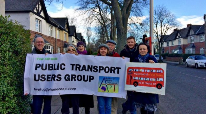 Newcastle North MP gets on board with bus passengers