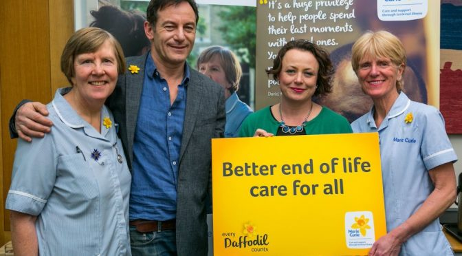 Newcastle MP joins Jason Isaacs to 'Make Every Daffodil Count'