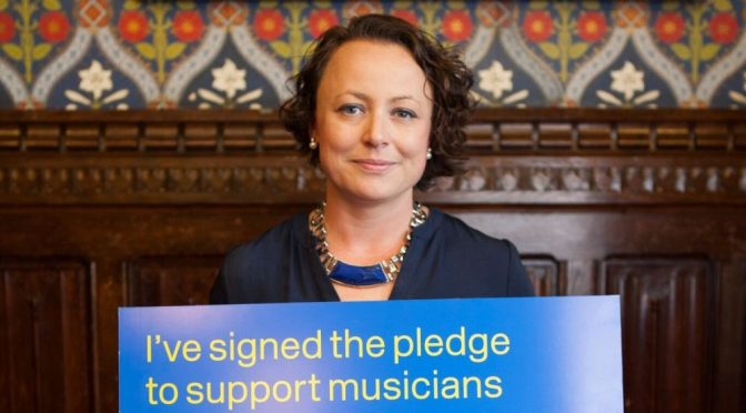 Newcastle North MP backs local musicians with Brexit pledge