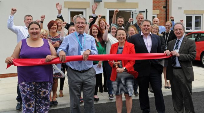 Catherine opens new specialist supported housing development