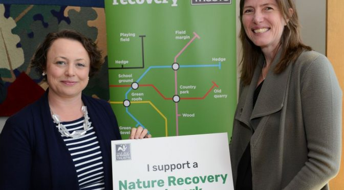 MP Catherine backs creation of Nature Recovery Network