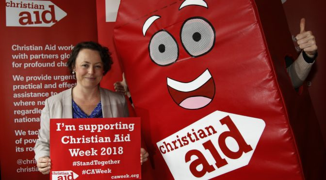Newcastle North MP lends her support to Christian Aid Week