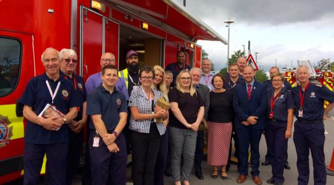 Catherine joins West Denton community safety day