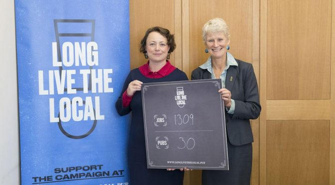 Newcastle MP pledges support for local pubs