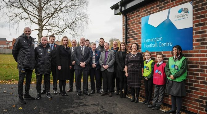 Newcastle United Foundation Opens Lemington Football Centre