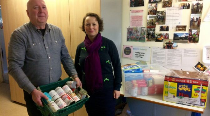 Catherine urges constituents to support foodbank's work