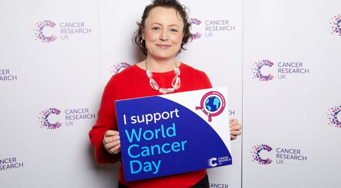Catherine marks World Cancer Day