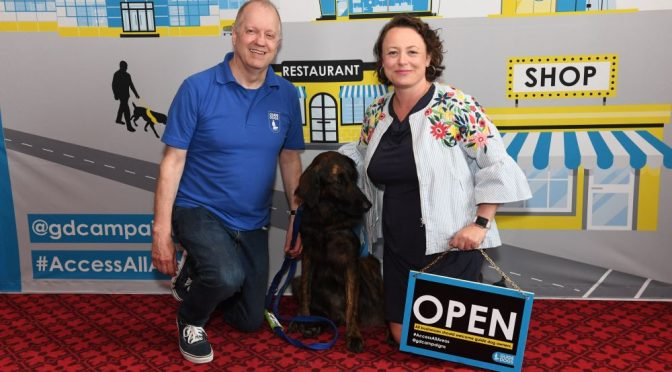 No one should be turned away because of their assistance dog