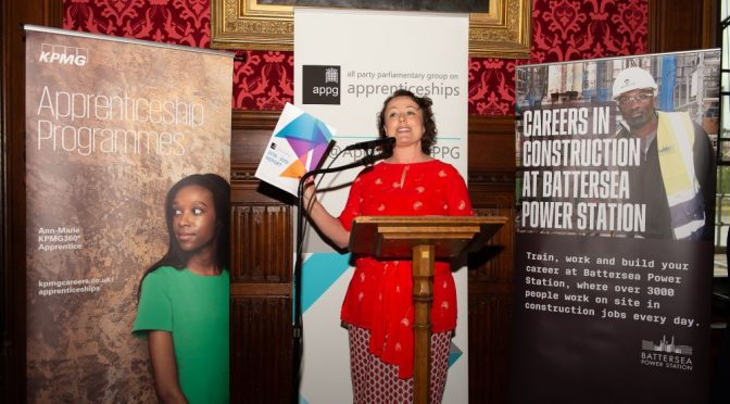 APPG Apprenticeships report launched