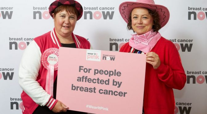 MP Catherine calls on constituents to wear it pink