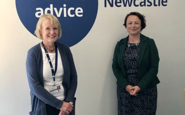 CATHERINE JOINS WITH CITIZENS ADVICE NEWCASTLE IN CALLING ON GOVERNMENT TO KEEP THE UNIVERSAL CREDIT LIFELINE