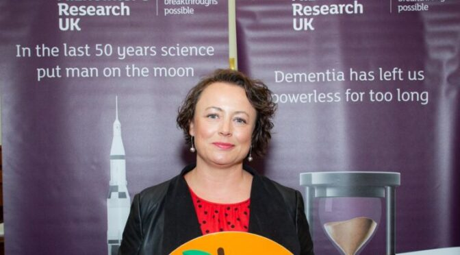 NEWCASTLE NORTH MP JOINS ALZHEIMER'S RESEARCH UK TO SUPPORT DEMENTIA RESEARCH IN WORLD ALZHEIMER'S MONTH