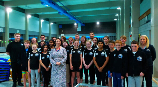 WARNING ON ACCESS TO SWIMMING DURING NEWCASTLE SWIM TEAM VISIT